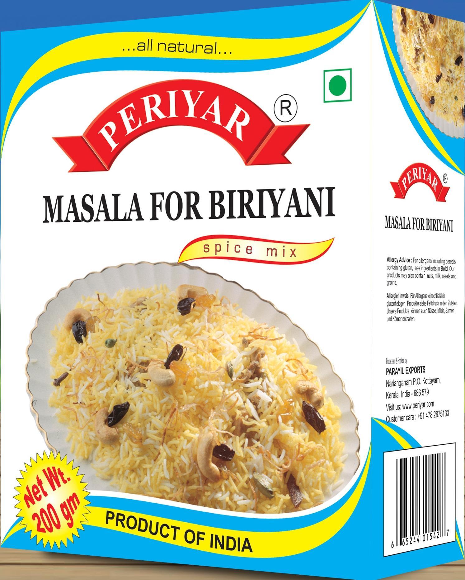 Periyar Masala for Briyani