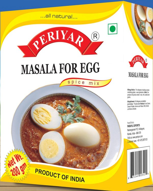 Periyar Masala for Egg
