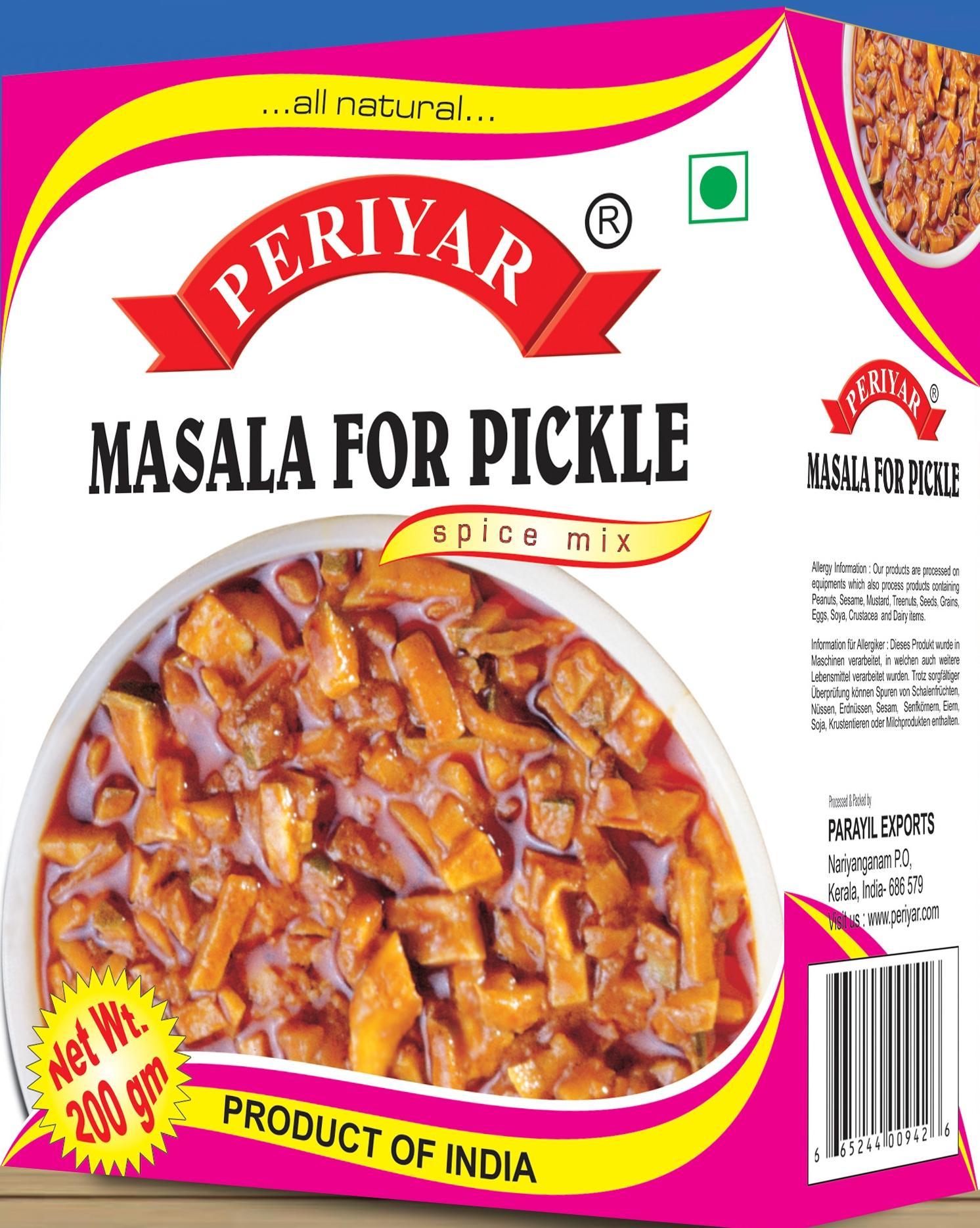 Periyar Masala for Pickle