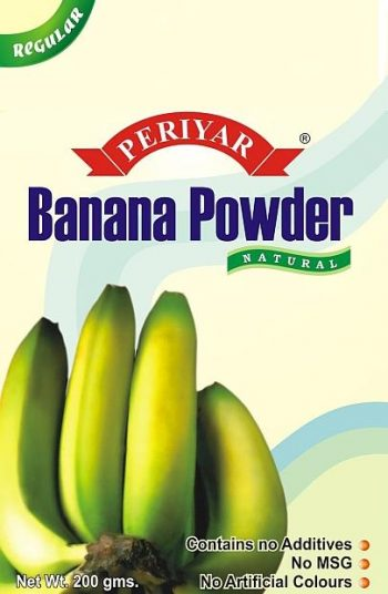Periyar Banana Powder - Regular