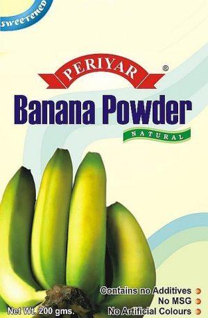 Periyar Banana Powder - Sweetened