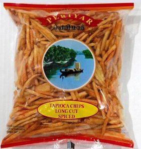Periyar Tapioca Chips Long Spiced