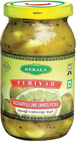 Periyar Vadukappuli Lime White Pickle