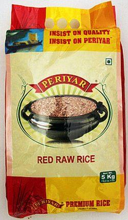 Periyar Red Raw Rice